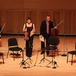 Jupiter String Quartet at Adelphi