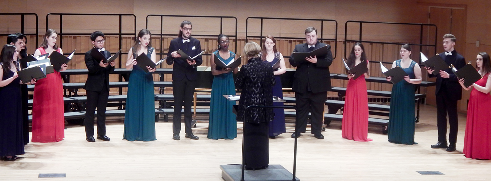 Adelphi Chorale and Adelphi Vocal Ensemble