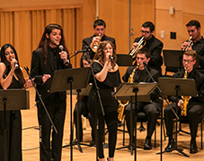 Image of Adelphi Jazz Ensemble